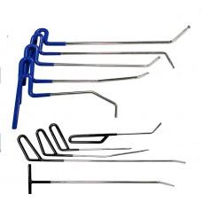 PDR набор из 10 крючков, клюшек для удаления вмятин без покраски и рихтовки авто